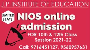 nios-admission 2021-22